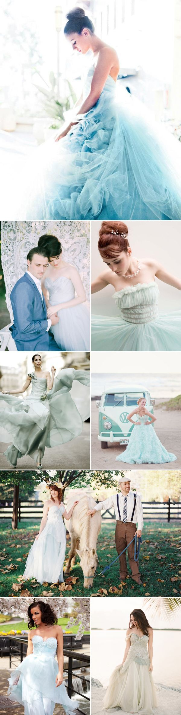 27 Beautiful Colored Wedding Dresses — Praise Wedding