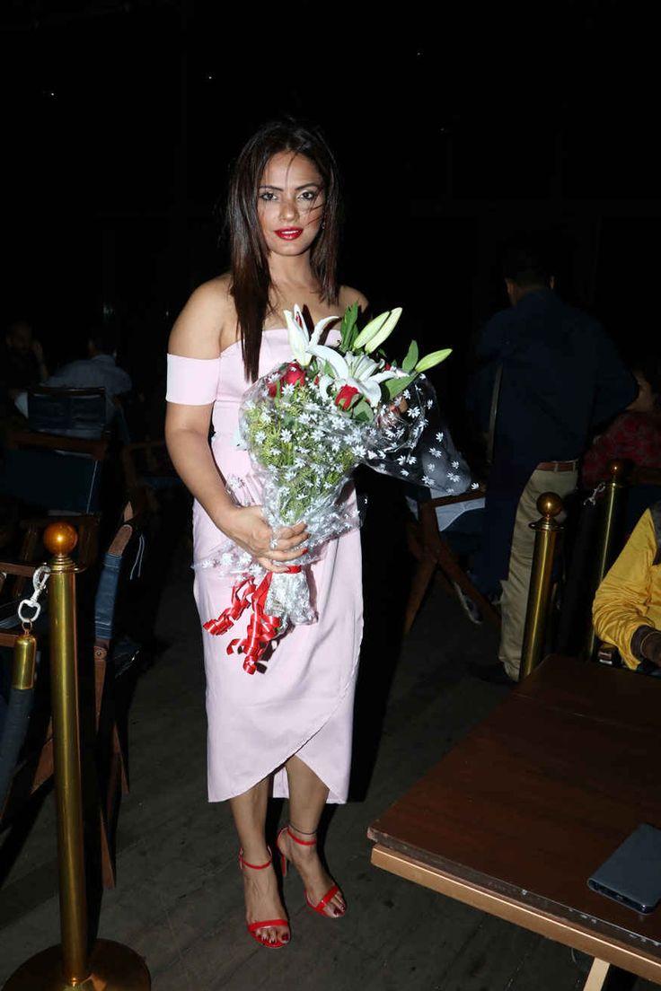 bollywoodmirchitadka: Neetu Chandra During Her Birthday party at ESTELLA...