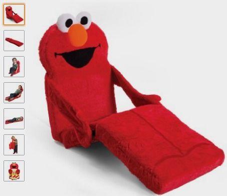 Marshmallow Children's Furniture - Marshmallow - Sesame Street - 3-in-1 Elmo Chair: http://amzn.to/29XqXxj