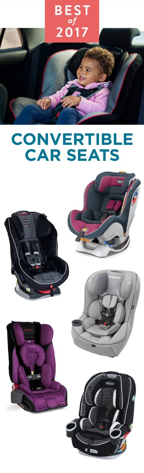 Once your baby outgrows its infant seat, you'll need a convertible car seat as they grow.