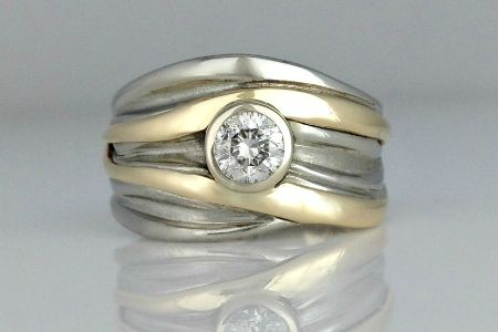 High Tide Wedding Band