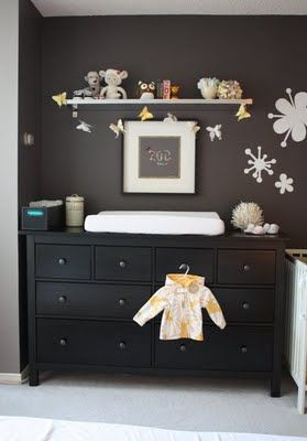 Hemnes Dresser - this is what I'll be getting instead of a change table for the nursery