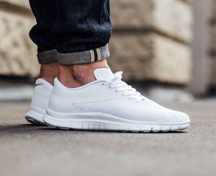 Nike Free Hypervenom Low, all-white