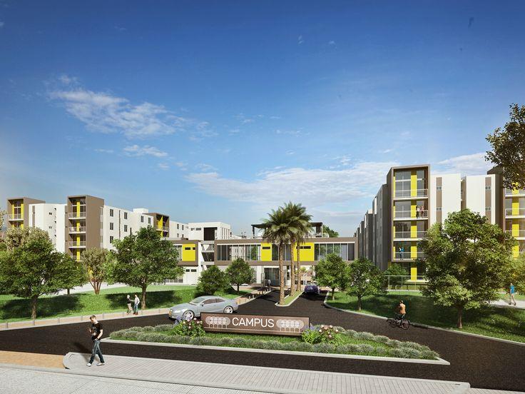 CAMPUS, CAJICA Colombia 210 Apartamentos de 3 Alcobas www.glarquitectos.com
