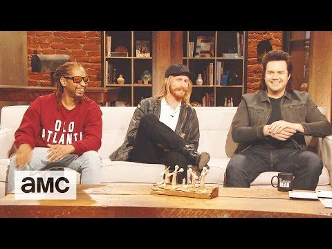 Talking Dead: Lil Jons Post-Apocalyptic Partner, Deez Pretzels, & More Fan Questions Ep. 711 'Hostiles and Calamities' with Austin Amelio  (Dwight) and Josh McDermitt (Eugene Porter) | Talking Dead with host Chris Hardwick | AMC