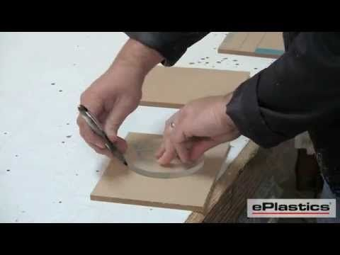 How to Cut Plexiglass - How to Fabricate Plexiglass - cutting plexiglass from ePlastics.com
