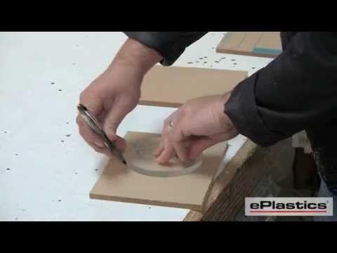 How to Cut Plexiglass - How to Fabricate Plexiglass - cutting plexiglass from ePlastics.com