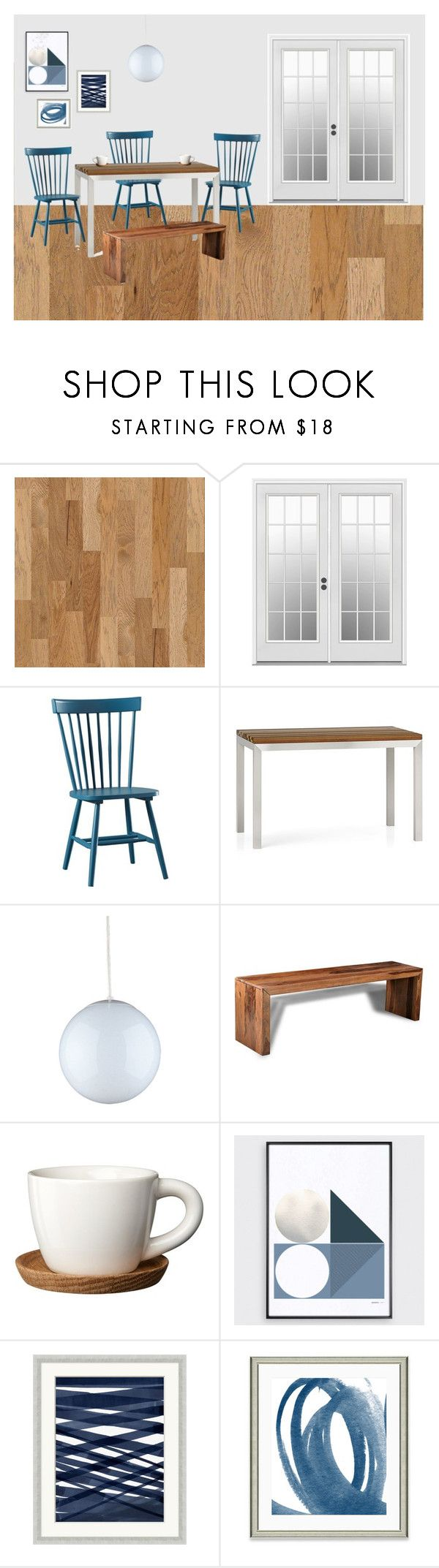 """Jill's Kitchenette"" by theabstractlife ❤ liked on Polyvore featuring interior, interiors, interior design, home, home decor, interior decorating, Sea Gull Lighting, Truce, Wendover Art Group and kitchen"