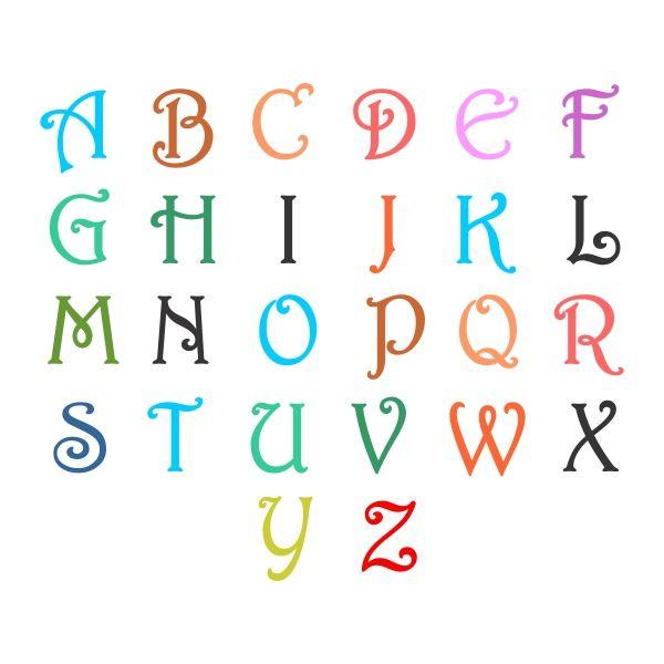 178 best monogram svg cuttable fonts images on pinterest