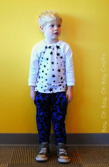Boy, Oh Boy, Oh Boy!: Scandinavian Style Sewing: Boy, Oh Boy, Oh Boy Crafts