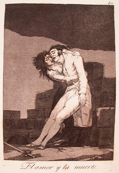 Francisco de Goya, Los Caprichos, Love and Death, 1799: Photos, Art, Death, El Amor, Amores Ilícitos, Loves