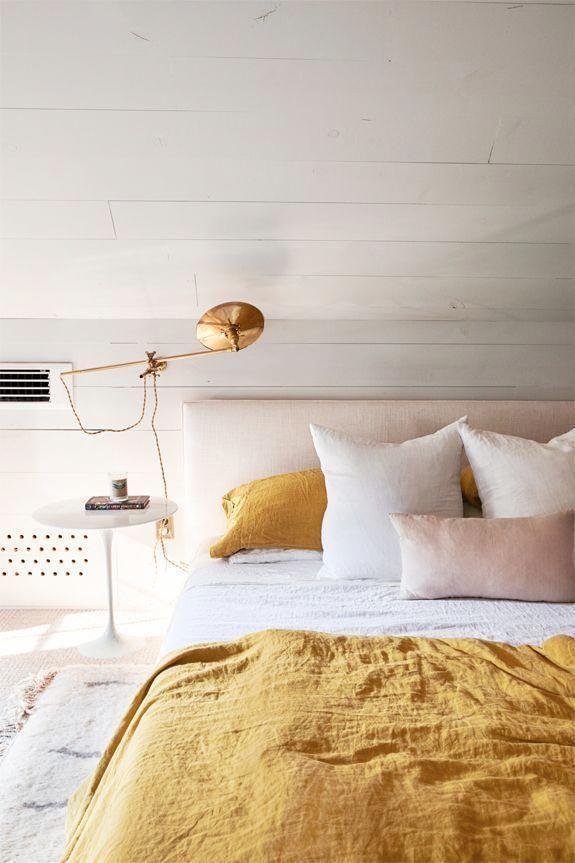 Mustard Yellow And Blush Bedroom Bedroomideasmaster Bedroom Interior Home Decor Bedroom Small Room Bedroom