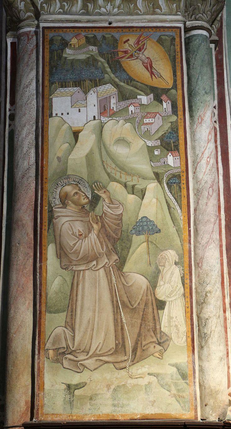 Cenni di francesco, san francesco stigmatizzato della cappella della croce di giorno, 1410, 01.JPG