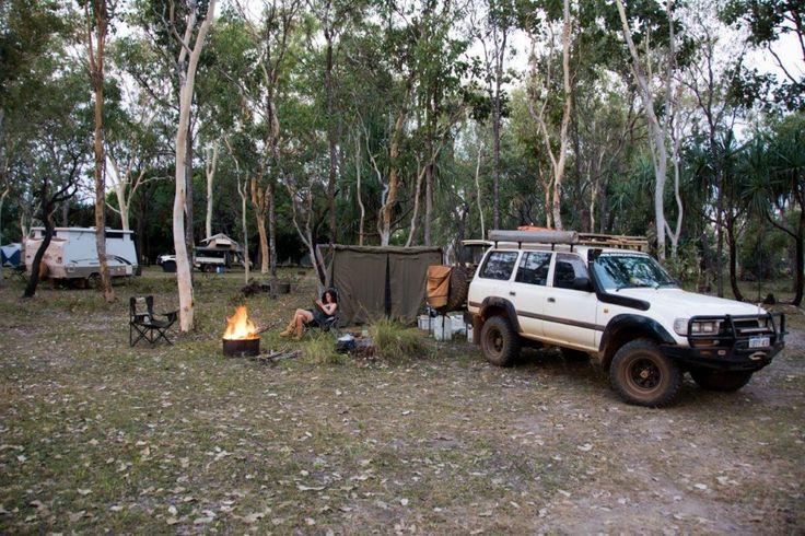 Camping at Mt Elizabeth, Gibb River Road
