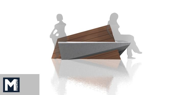 Outdoor Bench by Matthew Markow at http://www.coroflot.com/matthew_markow/profile
