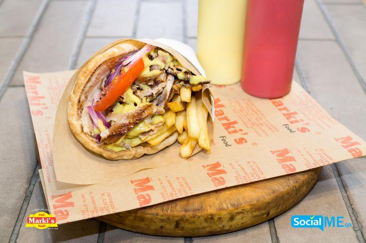 Λαχταριστός Γύρος Χοιρινός σε σάντουιτς και μερίδα!! Παραγγελία Online: www.markisfood.gr με -20% στην πρώτη σου παραγγελία..!!! #MarkisFood #Food #Thessaloniki