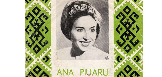 Ana Piuaru a fost harazita de Dumnezeu cu o voce ce i-a permis sa abordeze toate genurile muzicale, dar a rams fidela folclorului...
