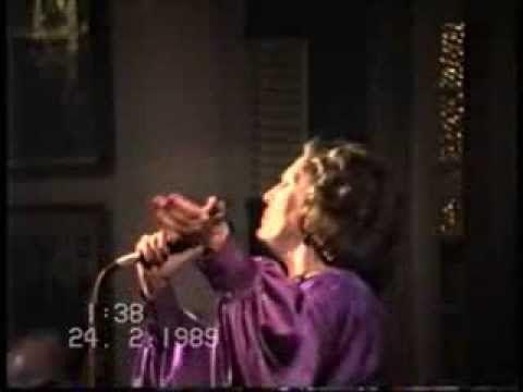 Amália Rodrigues. Adega Machado 1989. Lisboa