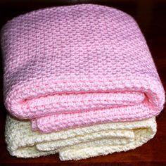 Crochet For Children: Fast Easy Crochet Baby Blanket (Free Pattern)