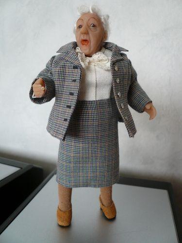 Helga Sadowski (If I am not mistaken, this is Margareth Rutherford, my heroin Miss Marple)