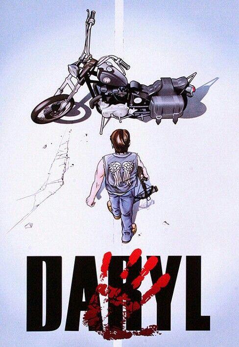 The Walking Dead's Daryl/Akira