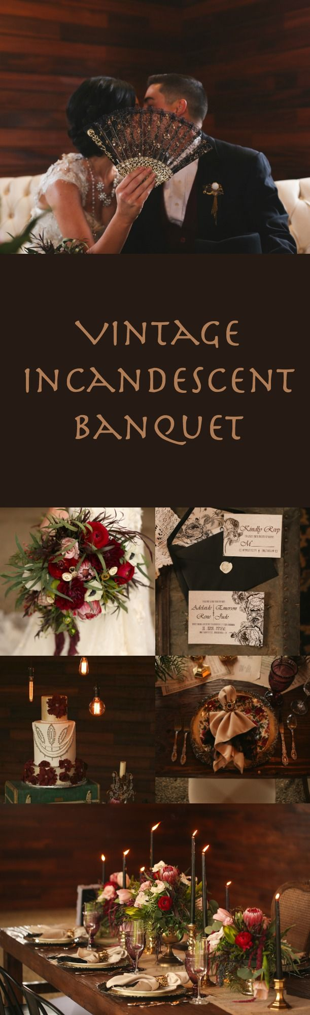 Vintage Incandescent Banquet | Beautiful and Gorgeous Wedding Theme Every Couple will Wish for!