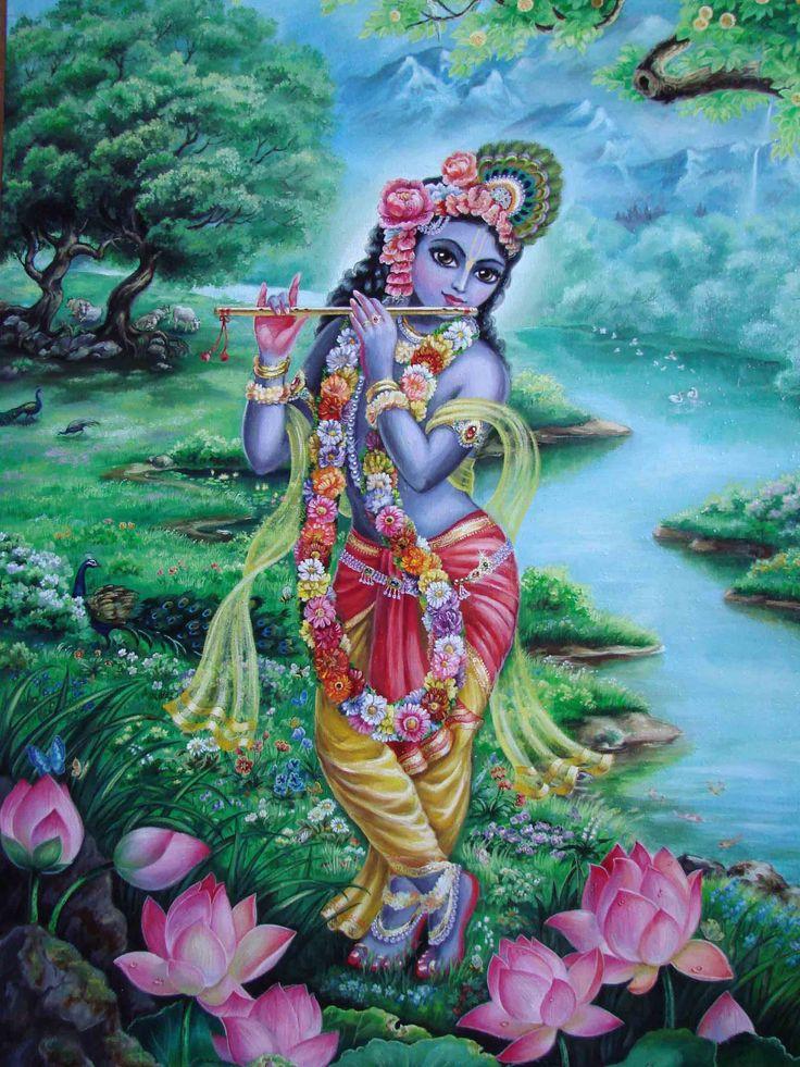 Gopala. Painting by Devaki