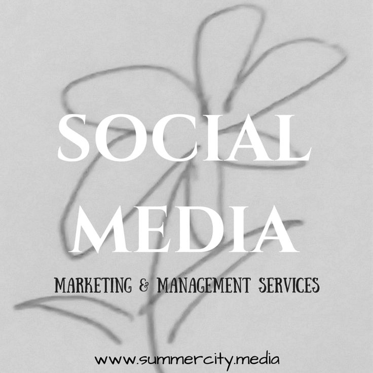 Social media marketing and management services via Summer City Digital Media! Come visit summercity.media to meet the newest digital media agency and creative design studio in British Columbia, Canada! Find us here ~~> summercity.media