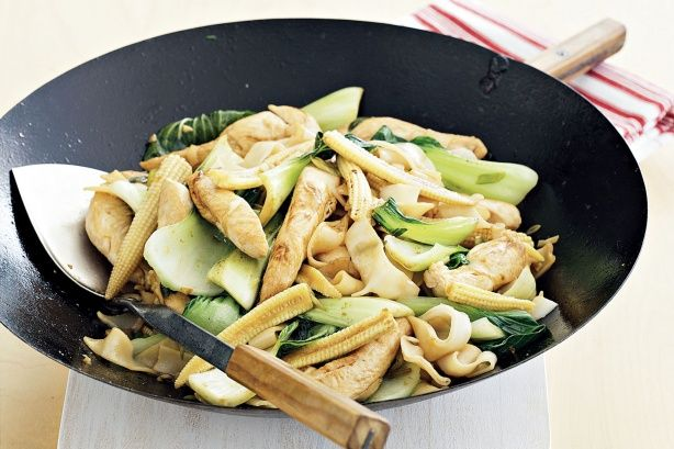 Chicken and bok choy stir fry | Food | Pinterest