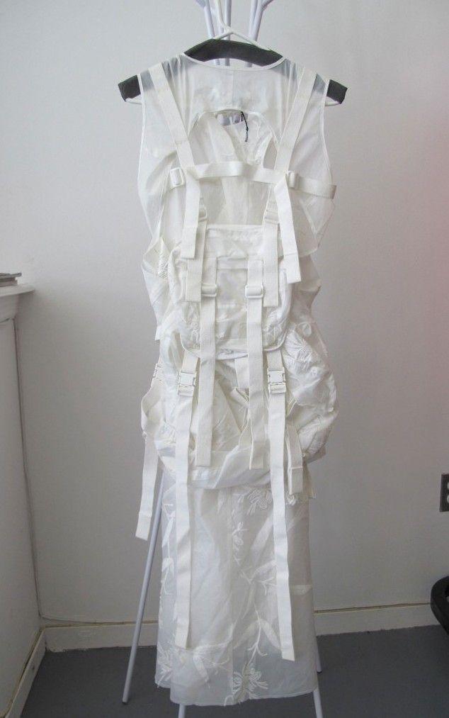 "tuukka13: ""Junya Watanabe Spring Summer 2003 Parachute Dress Backpack. """