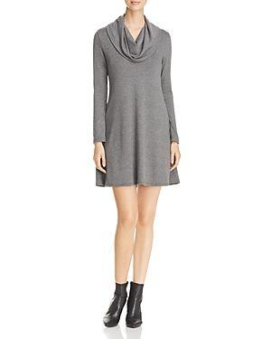 Robert Michaels Cowl Neck Sweater Dress