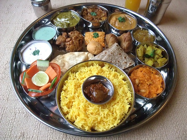INDIAN FOOD - North Indian Thali 21 | Flickr - Photo Sharing!  Travel to India with Travelopod.com... enjoy the most authentic local flavors with our list of top eateries.