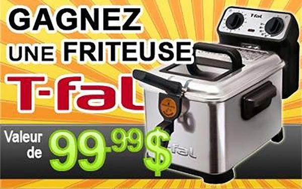 Concours GAGNEZ une FRITEUSE T-Fal Filtra Pro