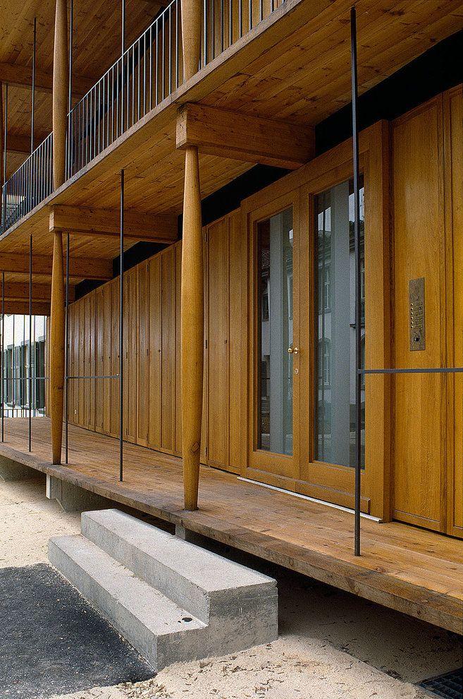 Herzog & de Mueron - Apartment building, Basel 1988