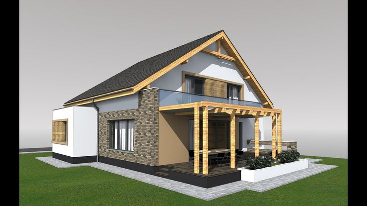 Modern Attic House Design House Roof Design Bungalow Design Bungalow House Design