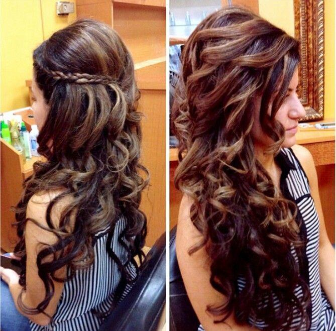 Sensational 1000 Images About Wedding Hair On Pinterest Long Curly Wedding Short Hairstyles For Black Women Fulllsitofus