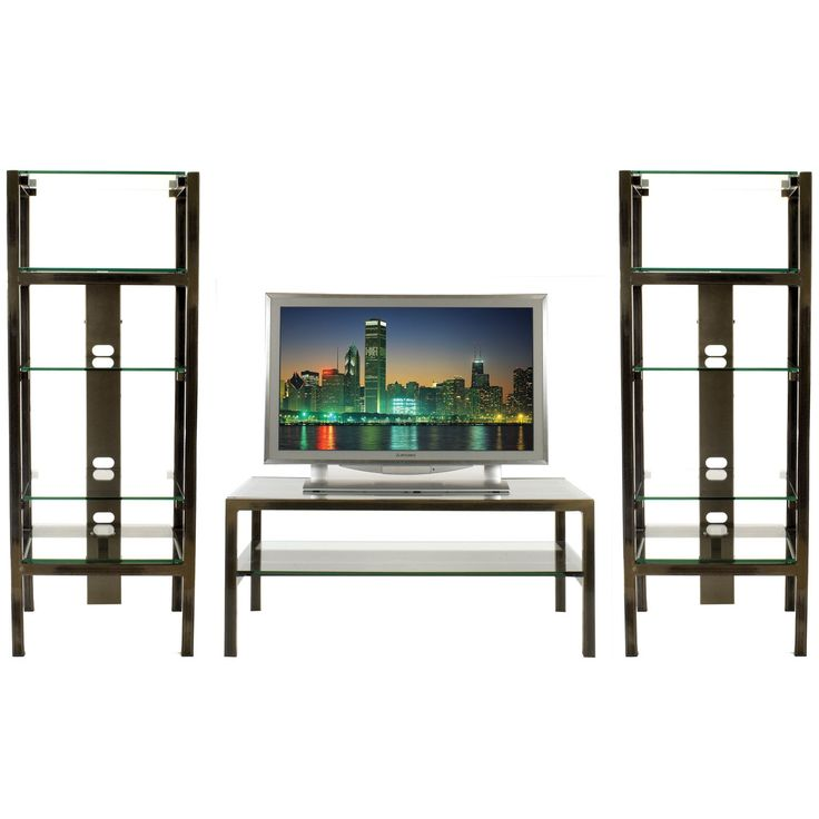 Steel   Glass Home Theater Display Shelving   Table by Boltz   TV Carts and  Stands. 117 best Stalen Meubelen images on Pinterest