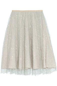 J.Crew Collection tulle midi skirt | NET-A-PORTER $178.00