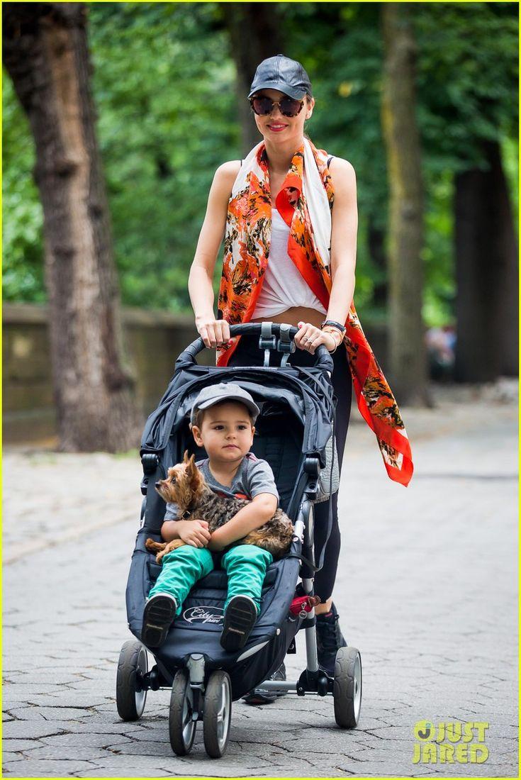 Miranda Kerr: Central Park Morning with Flynn & Frankie!