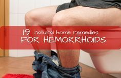 How to get rid of hemorrhoids naturally. Read these 19 hemorrhoids home remedies and learn how to stop the bleeding, itching, irritation of the anus and swelling and find an excellent hemorrhoids relief at home. Visit: http://qoo.by/2msY