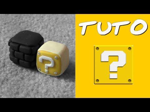 "TUTO FIMO | Le Cube ""?"" (de Mario) polymer clay tutorial"