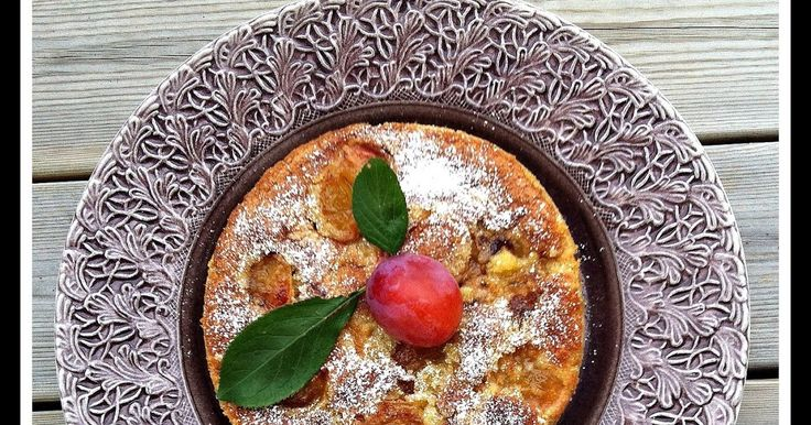 Malin's Diner: CLAFOUTIS MED PLOMMON