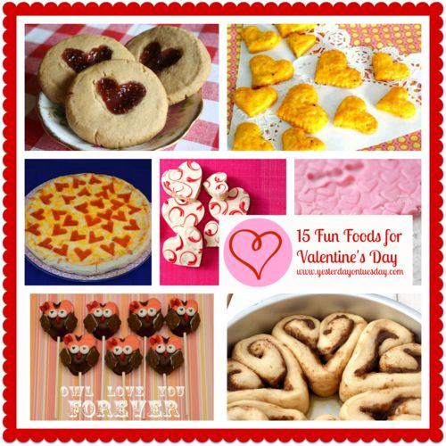 78 best images about cooking with kids on pinterest for Valentines day party foods