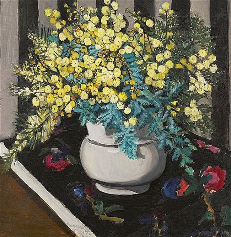 Margaret Preston, Wattle 1928