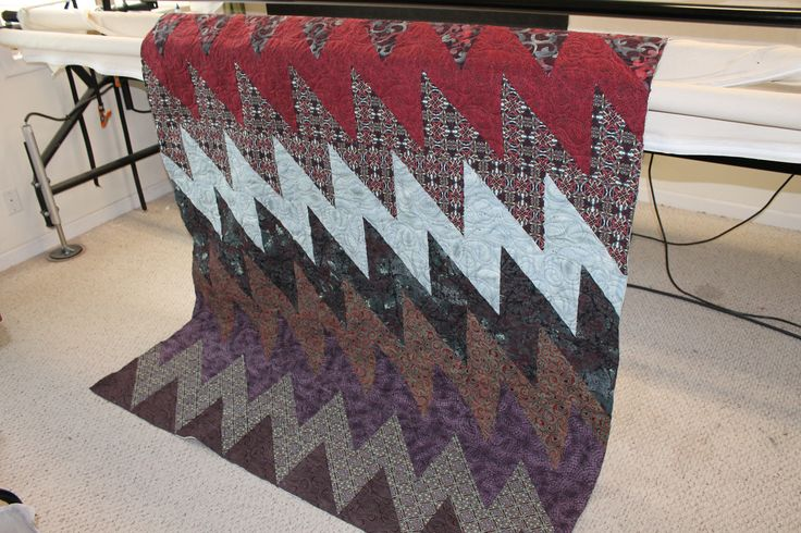Plums, Grays and Burgundys are in this lovely quilt made with my All That Jazz Pattern.  Available in my Etsy and Craftsy Store (Cynthia Brunz Designs)