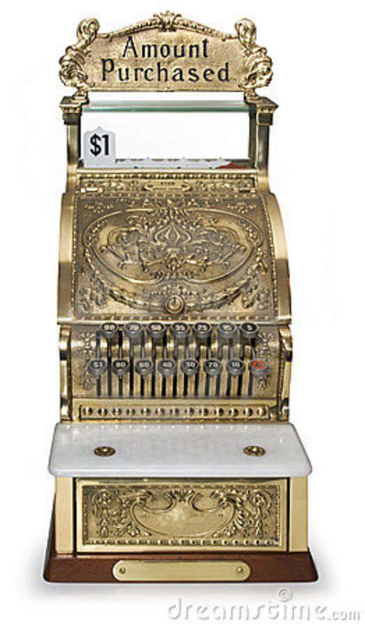 vintage cash register - Google Search