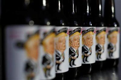 Μεξικάνικη μπίρα με γεύση Τραμπ.