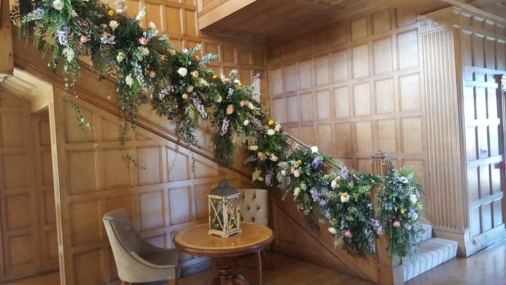 #Coombe lodge staircase