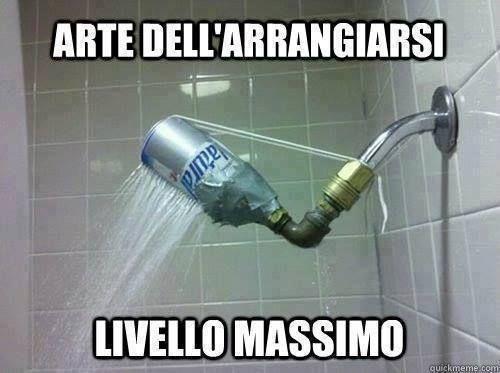 ARTE DELL'ARRANGIARSI :) http://www.ilpeggiodellarete.it/arte-dellarrangiarsi/