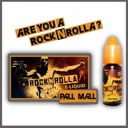 ROCKNROLLA Pall mall 10ml. Find out more in www.nexxton-ecig.com